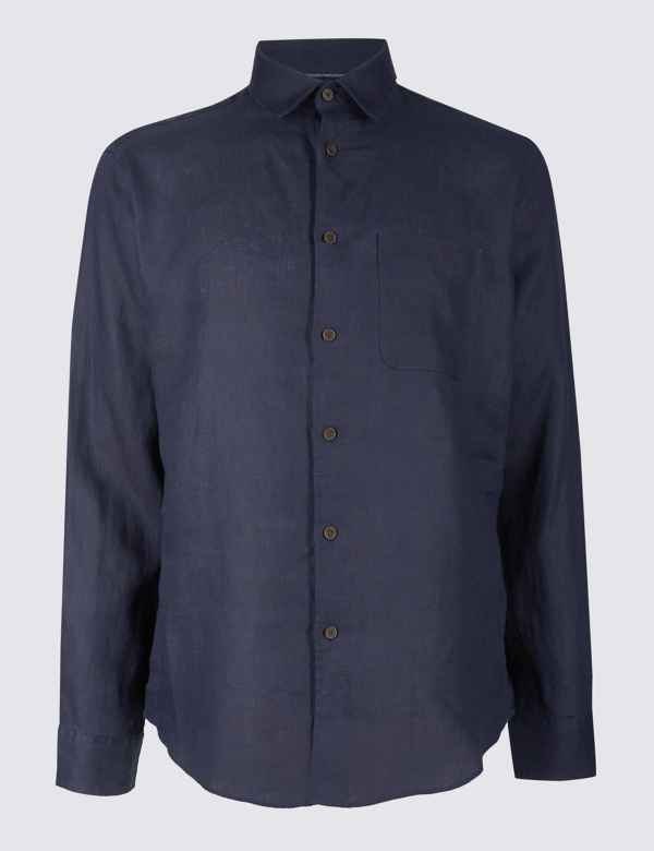 cc7b9480993 Mens Linen Clothing - Shirts