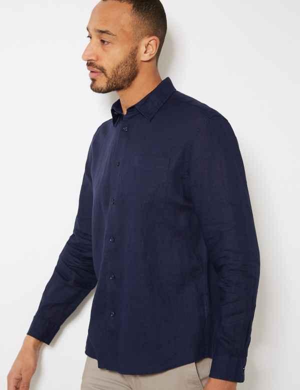 2c213f7388847 Mens Linen Clothing - Shirts