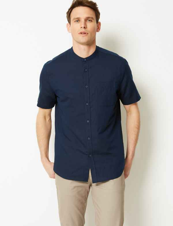 ea73865a5f0e Mens Linen Clothing - Shirts