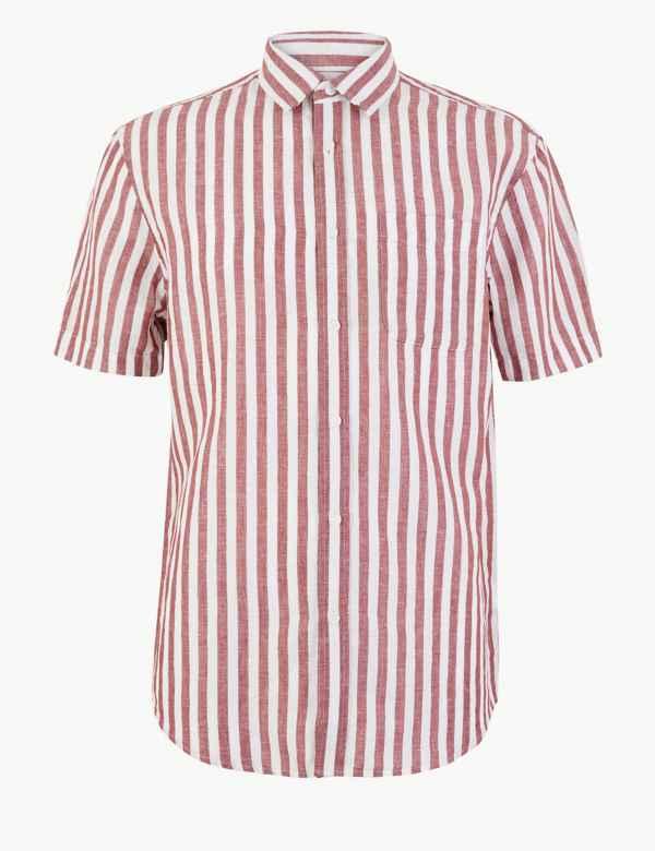 d7344c1cfbae Mens Casual Shirts | M&S
