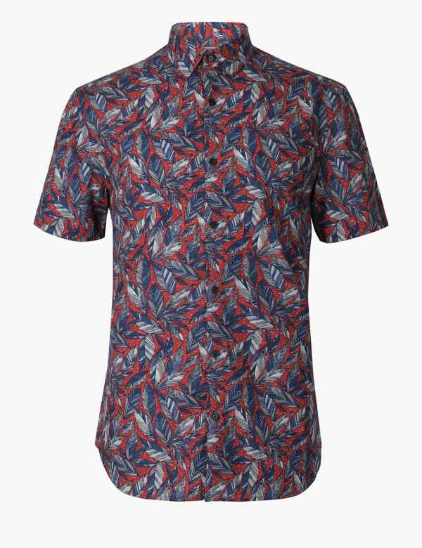 283763f4 Mens Casual Shirts | M&S