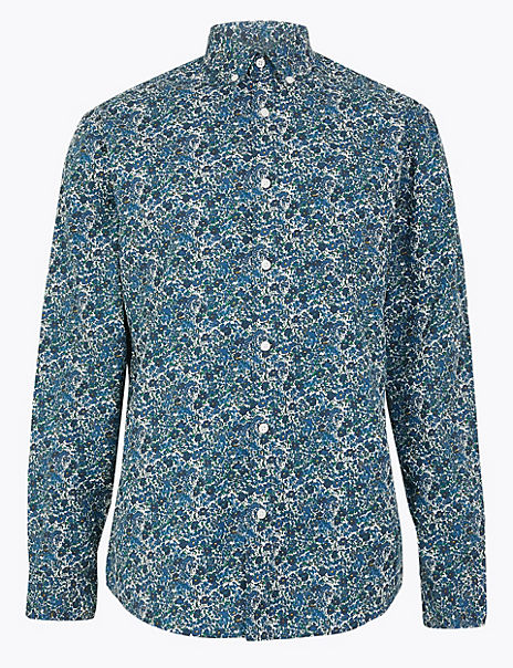 Pure Cotton Floral Shirt