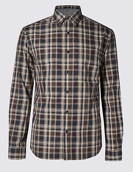 Big & Tall Pure Cotton Shirt with Pocket