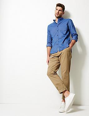 Pure Cotton Slim Fit Oxford Shirt