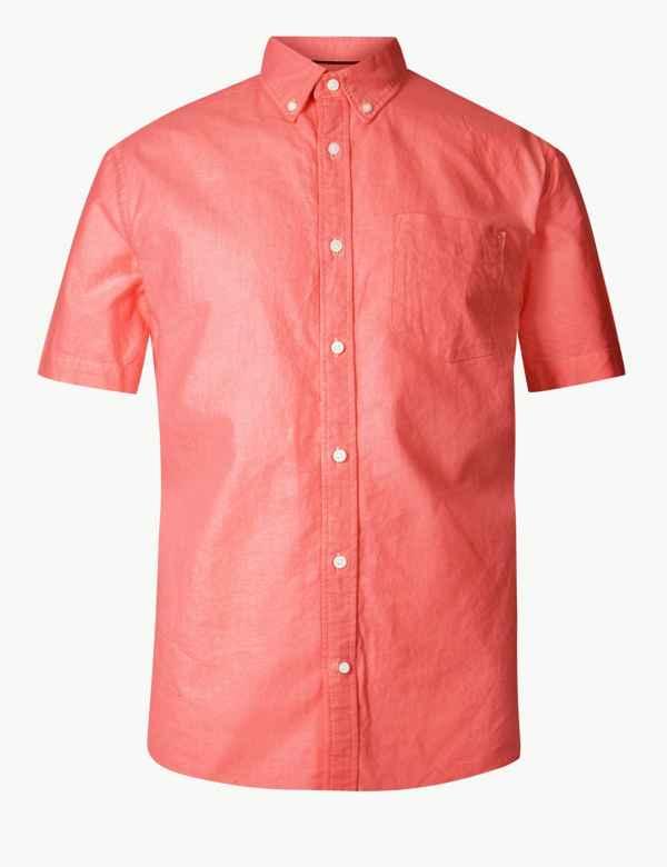 Pure Cotton Oxford Shirt 4902feff2