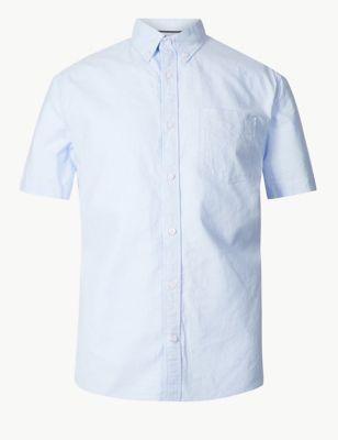 4309ff5d40f91f Pure Cotton Oxford Shirt £17.50