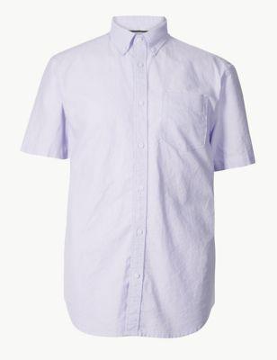 e6164396c28 Pure Cotton Oxford Shirt £17.50