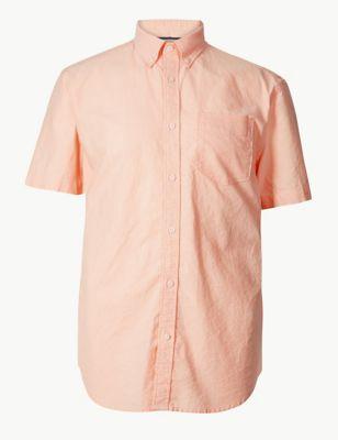 19ef8d34f101e Pure Cotton Oxford Shirt £17.50