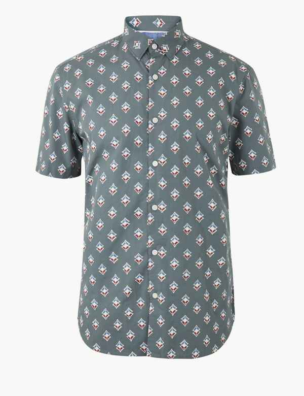 9acaa7d4e Mens Casual Shirts | M&S