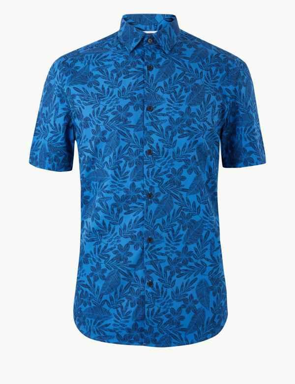 12e3c234 Mens Casual Shirts | M&S