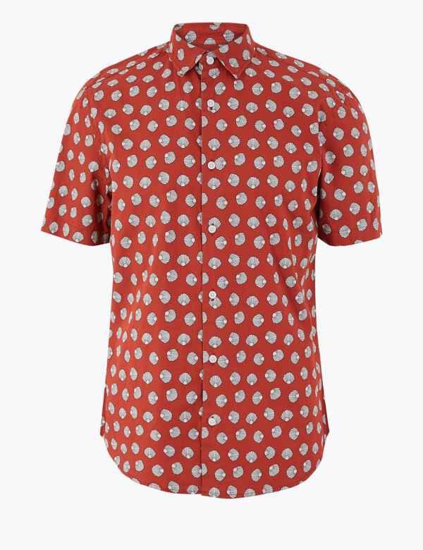 833ed43592130a Mens Shirts   Check & Denim, Short & Long Sleeve Shirts   M&S