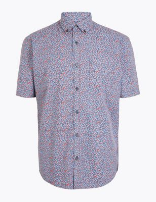 8324beb7c7d68e Pure Cotton Printed Shirt £19.50