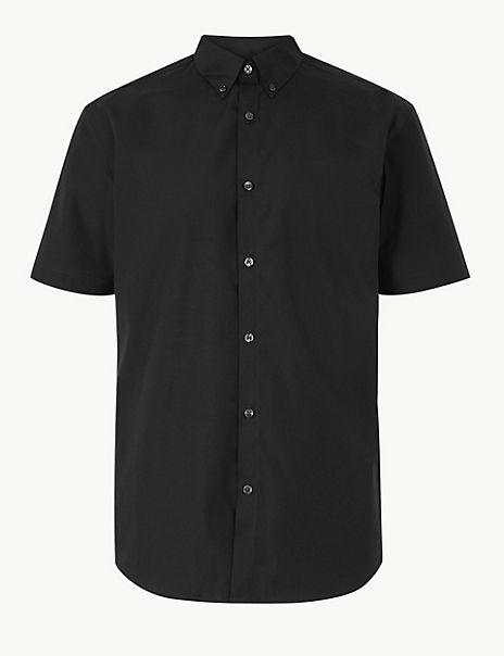 Cotton Blend Shirt