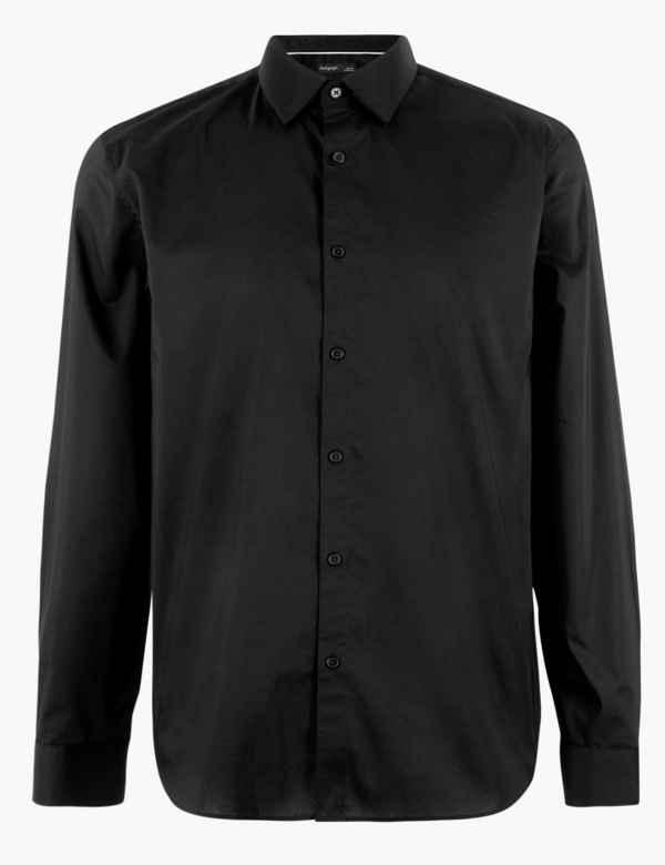 c53ab1279 Mens Casual Shirts | Long & Short Sleeve Shirts | M&S IE