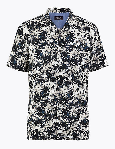 Cotton Rich Printed Shirt