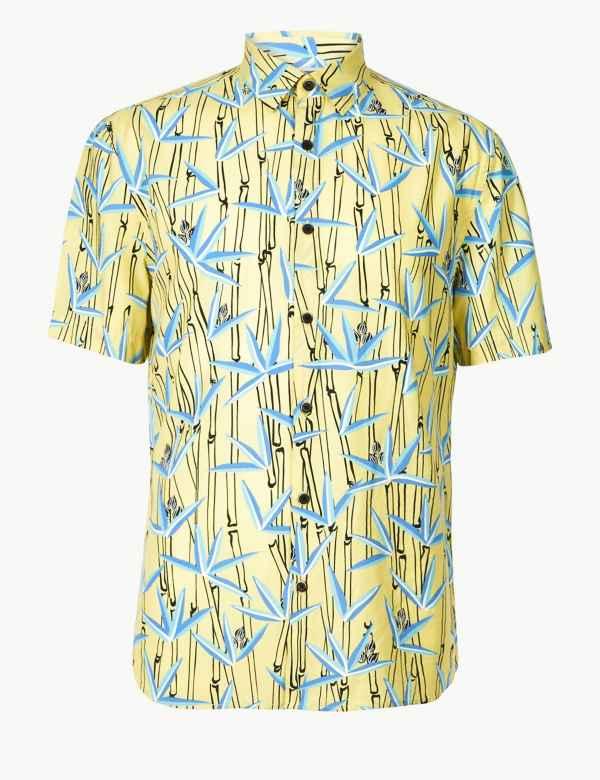 ef0f72e80 Short Sleeve Shirts for Men  M&S