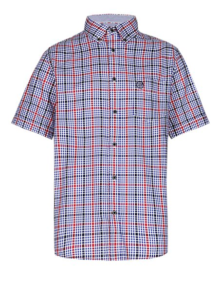 Pure Cotton Overchecked Shirt