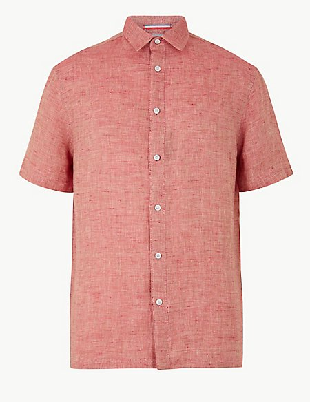Pure Linen Relaxed Fit Shirt