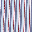 Pure Cotton Striped Shirt, RED, swatch