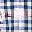 Camisa de cuadros 100% algodón, MEZCLA DE TONOS AZULES, swatch