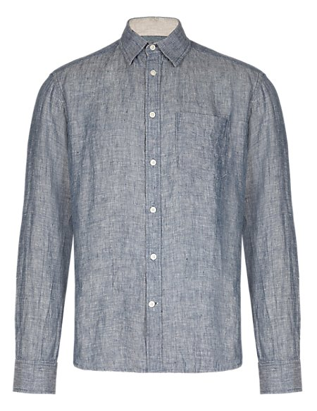 Easy to Iron Pure Linen Shirt