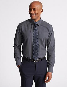 Pure Cotton Regular Fit Luxury Shirt