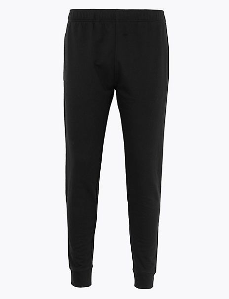 Cotton Rich Regular Cuffed Joggers