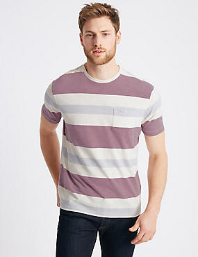 Pure Cotton Striped Authentic Top
