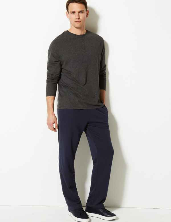 e5443ad6715b Cotton Rich Lightweight Joggers with StayNEW™