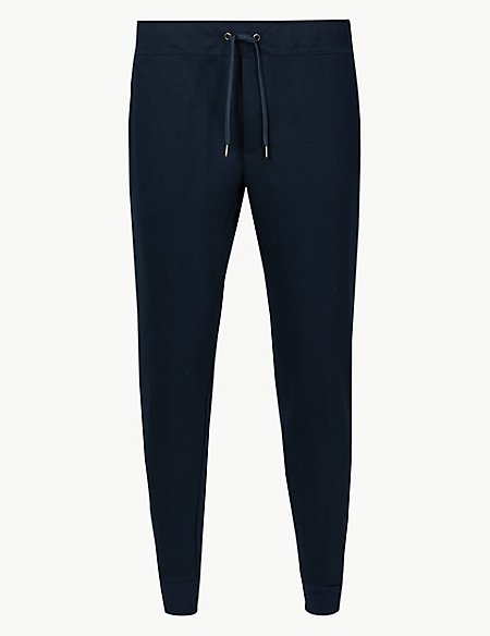 Cotton Blend New Cuffed Joggers