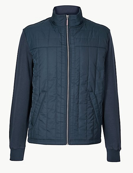 Pure Cotton Fleece Jacket