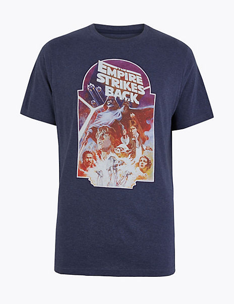 Pure Cotton Star Wars™ Poster Print T-Shirt