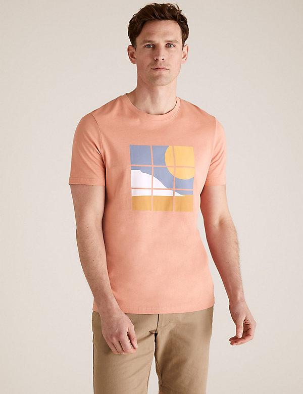 M/&S Mens Plain Premium Soft Pure Cotton Short SleeveT-Shirt Marks /& Spencer New