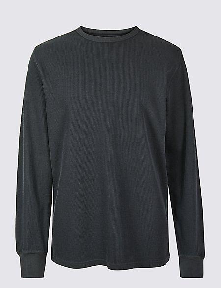 Slim Fit Pure Cotton Sweatshirt