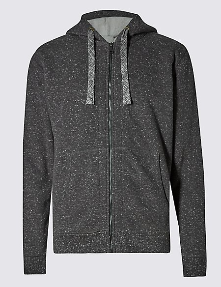 Tailored Fit Textured Fleece Top