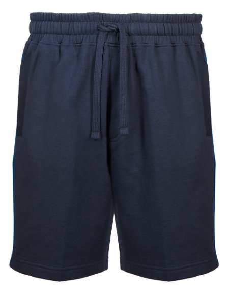 Pure Cotton Sweat Shorts with StayNEW™