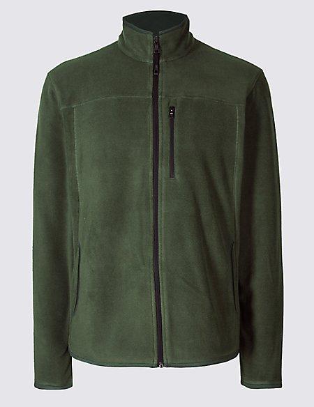 Pure Cotton Fleece Lined Jacket