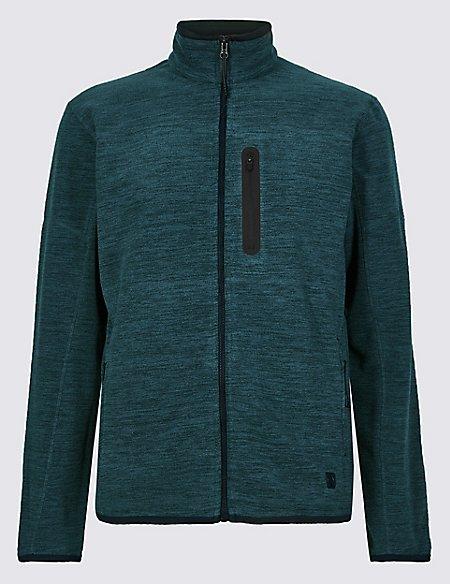 Zipped Through Fleece Jacket with Stormwear™