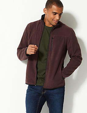 Funnel Neck Fleece Jacket with Stormwear™