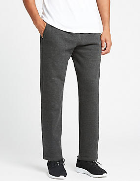 Pure Cotton Textured Joggers, CHARCOAL, catlanding