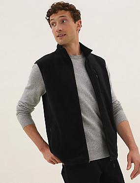 Recycled Micro Fleece Gilet