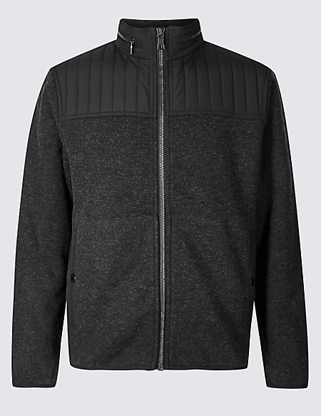 Textured Fleece Jacket with Stormwear™