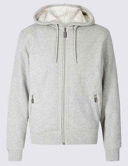 Fleece Lined Hoodie with Stormwear™