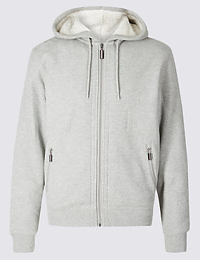 Fleece Lined Hoodie with Stormwear™