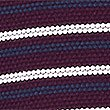 Pure Cotton Striped Polo Shirt, PURPLE MIX, swatch