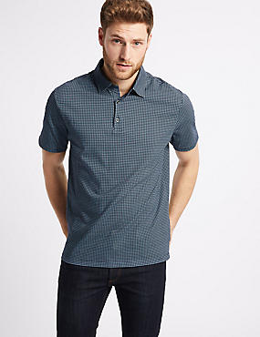 Regular Fit Pure Cotton Polo Shirt