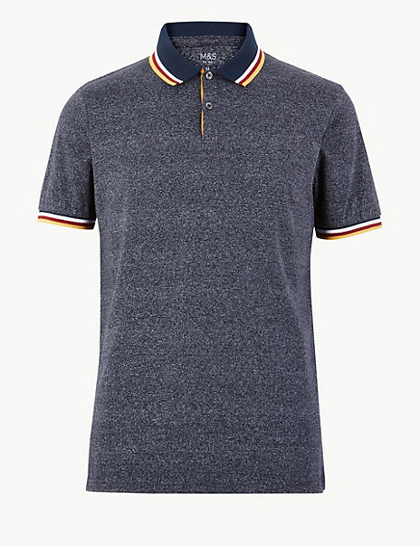 Cotton Rich Polo Shirt