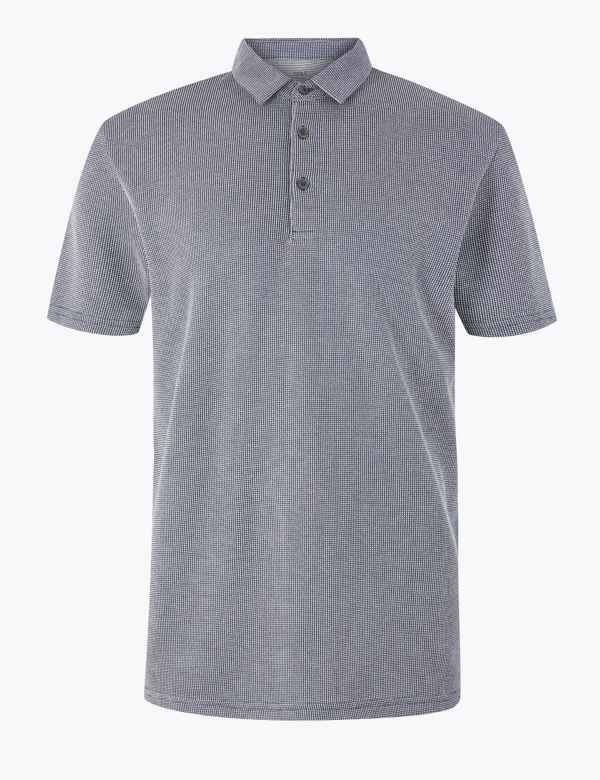 0f80b4809 T-Shirts & Polos for Men | M&S IE