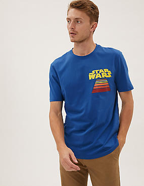 Pure Cotton Star Wars™ Graphic T-Shirt