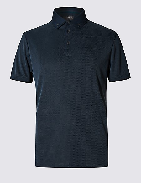 Modal Blend Tailored Fit Soft Touch Polo Shirt